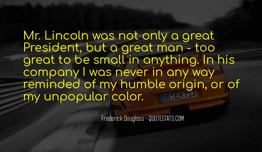Quotes About President Lincoln #964448