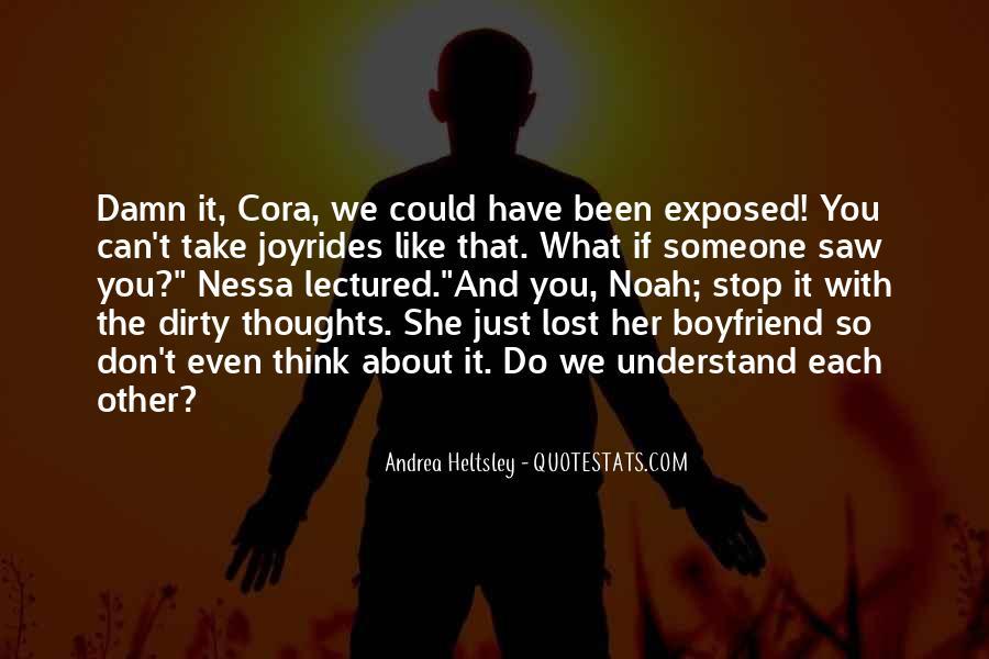 Quotes About Damn Boyfriend #762549