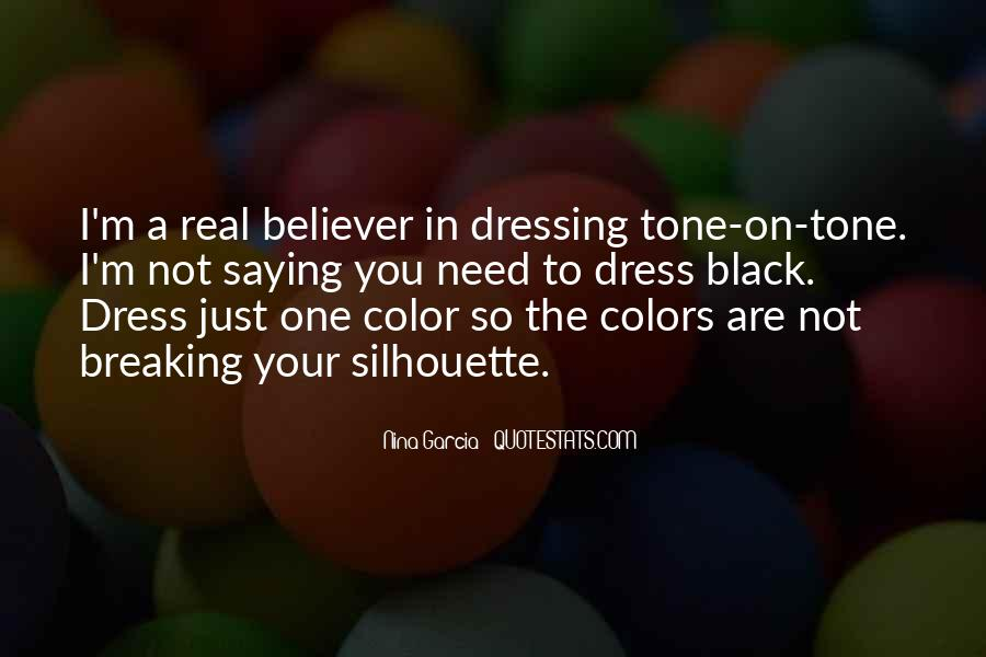 Quotes About Dressing In All Black #1760323