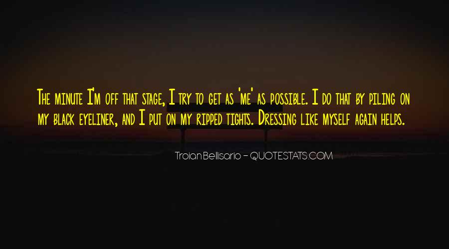 Quotes About Dressing In All Black #62052