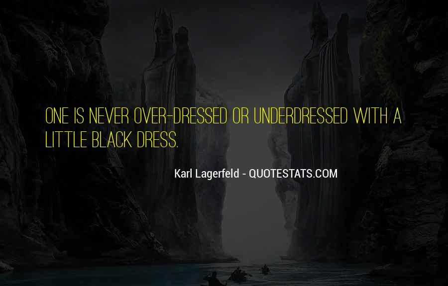 Quotes About Dressing In All Black #886908