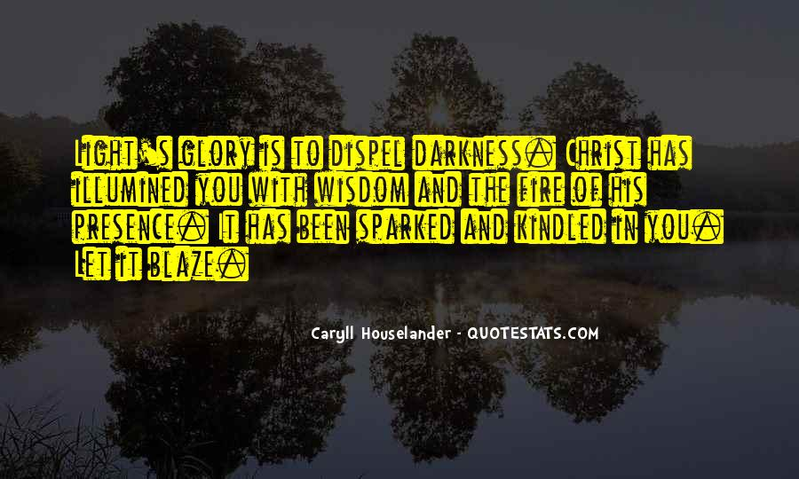 Quotes About Darkness And Light #103602