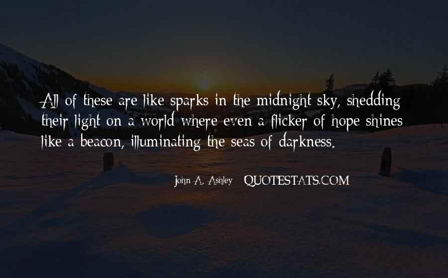 Quotes About Darkness And Light #122273