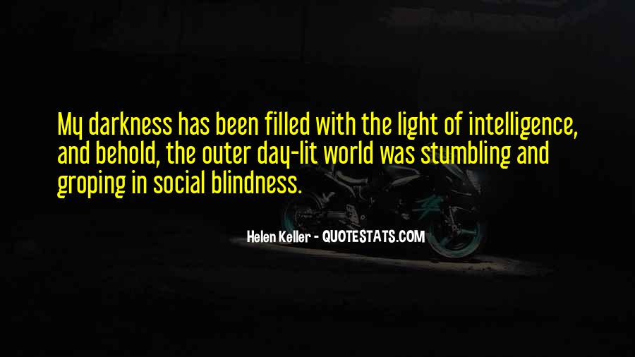 Quotes About Darkness And Light #135450