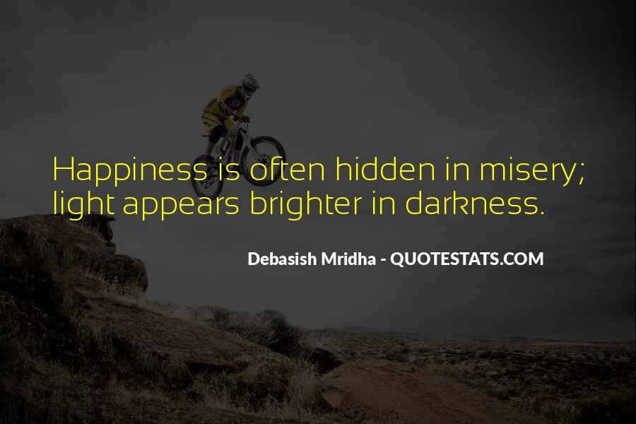 Quotes About Darkness And Light #146340