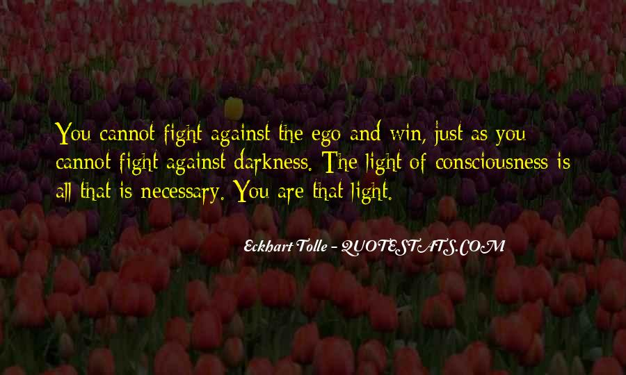 Quotes About Darkness And Light #165376