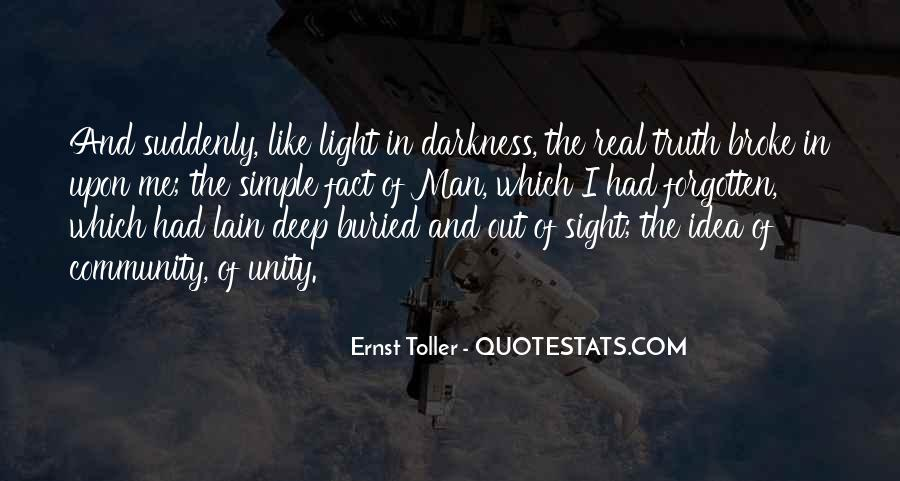 Quotes About Darkness And Light #173545