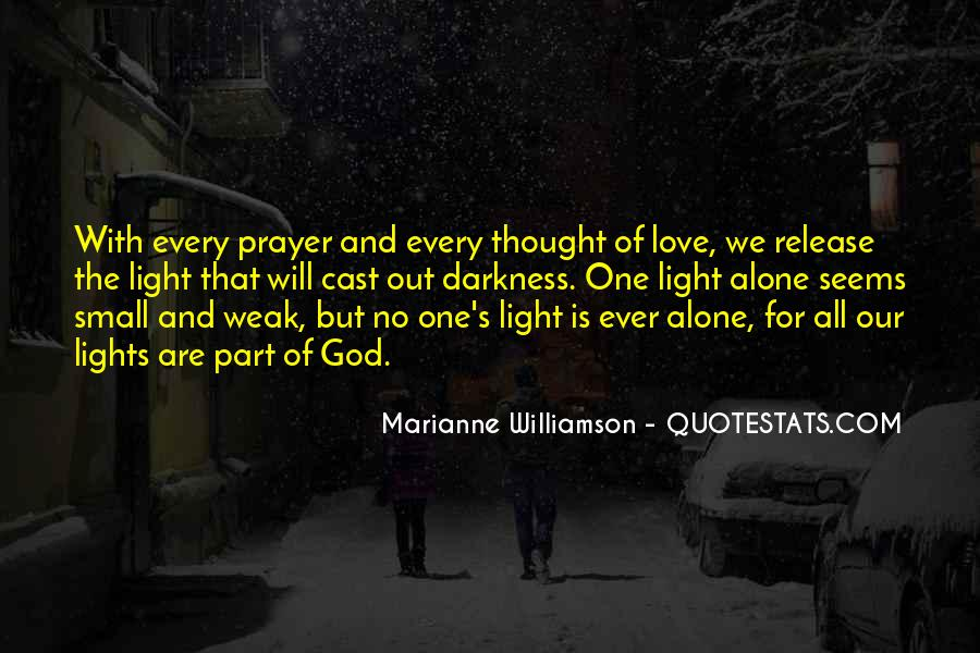 Quotes About Darkness And Light #182710