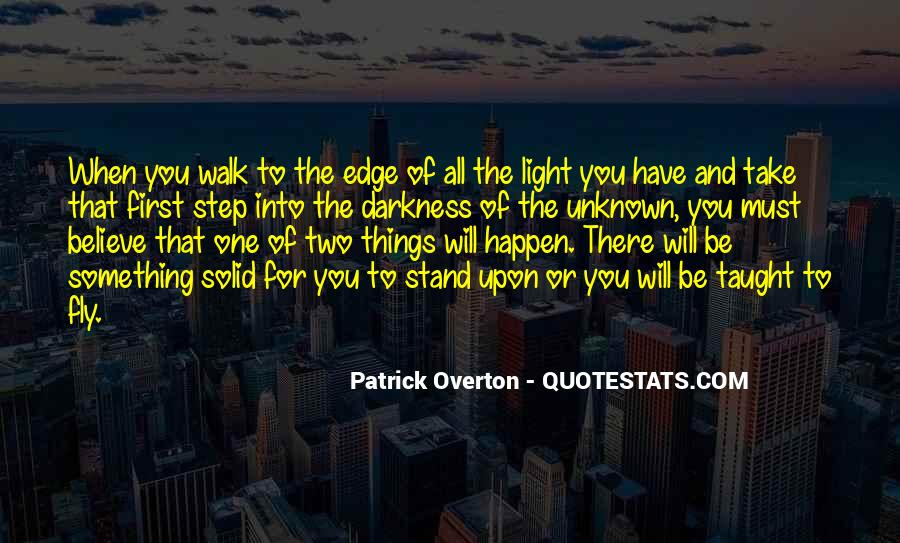 Quotes About Darkness And Light #188796