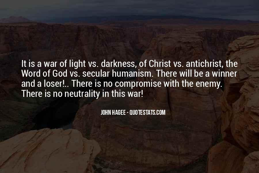 Quotes About Darkness And Light #25501