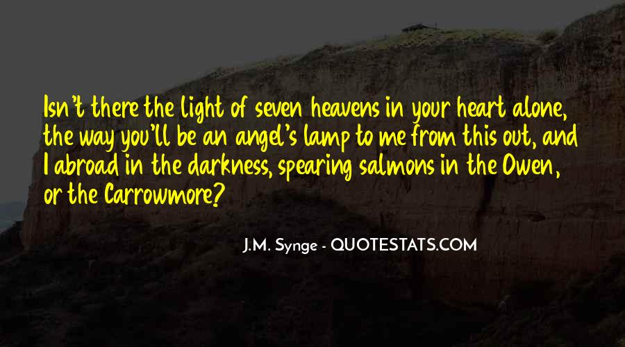 Quotes About Darkness And Light #26802