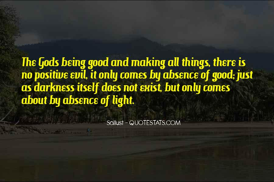 Quotes About Darkness And Light #43554