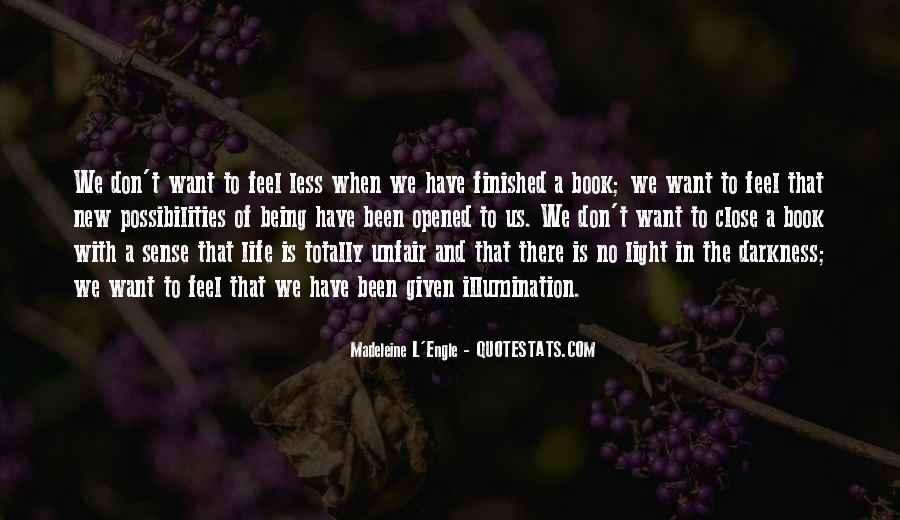 Quotes About Darkness And Light #49561