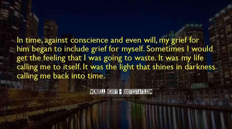 Quotes About Darkness And Light #56648