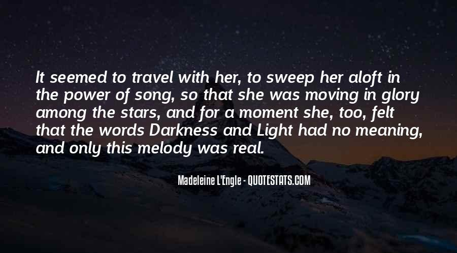 Quotes About Darkness And Light #61881