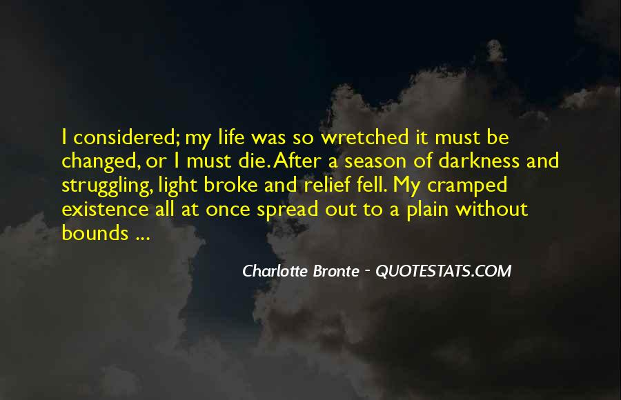 Quotes About Darkness And Light #80148