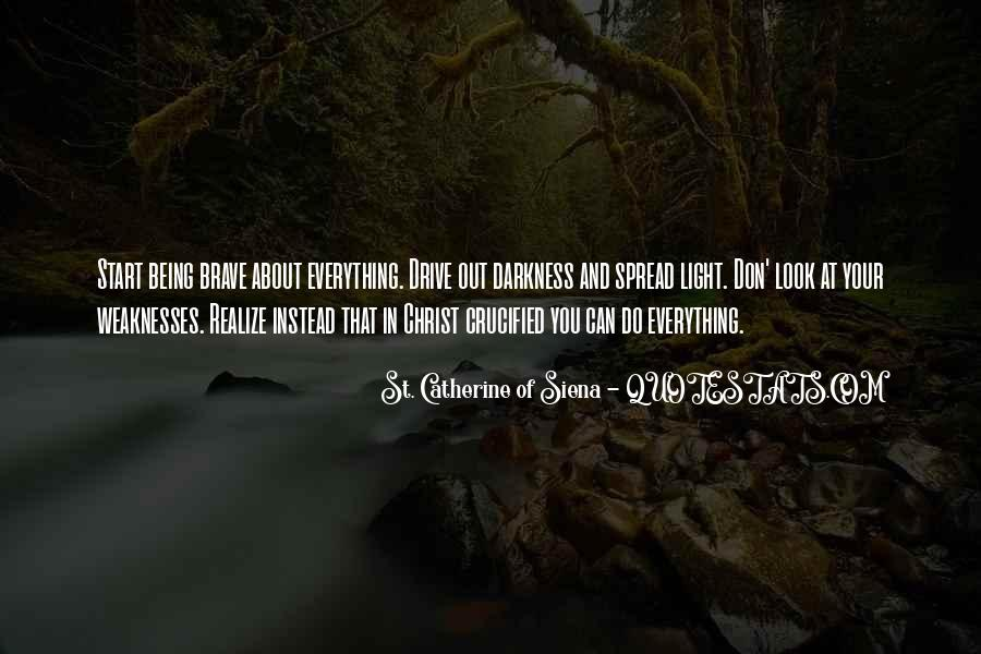 Quotes About Darkness And Light #92643