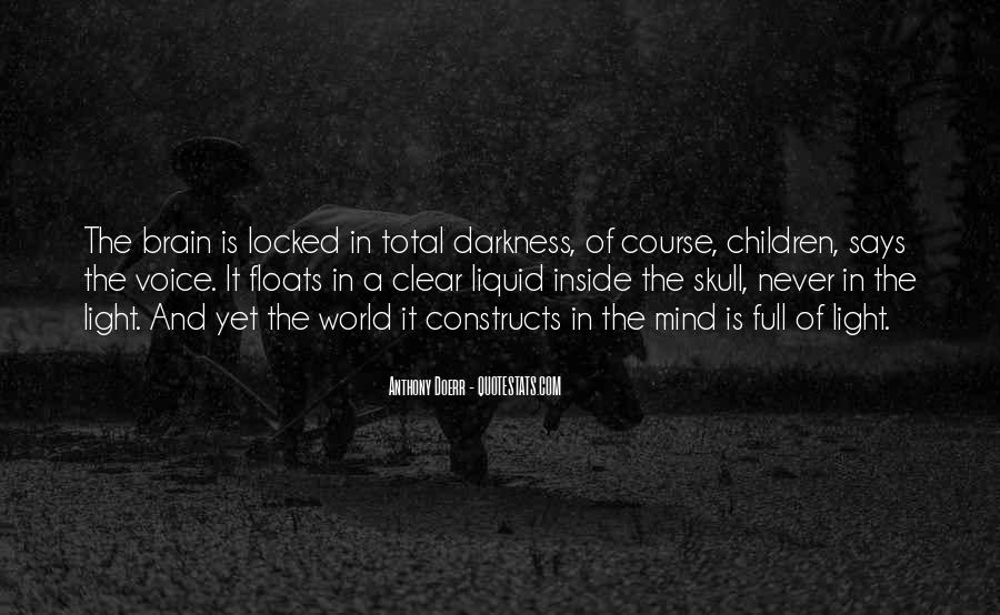 Quotes About Darkness And Light #94849