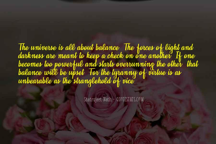 Quotes About Darkness And Light #99034