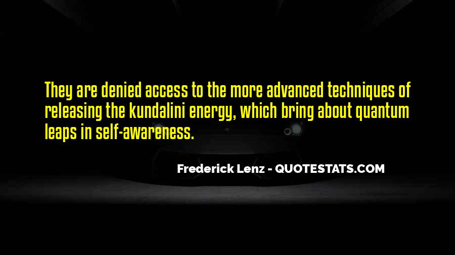 Quotes About Awareness Of Self #243214