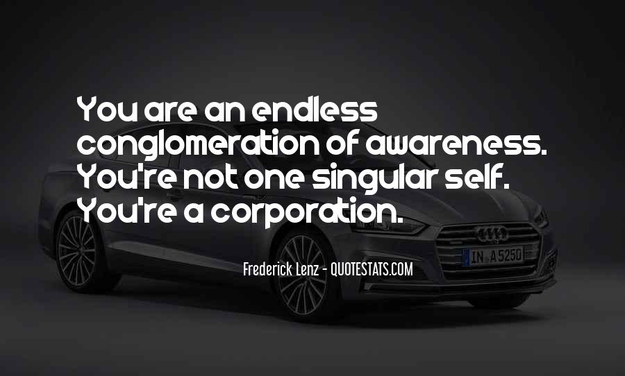 Quotes About Awareness Of Self #243251