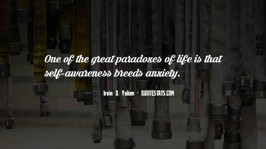 Quotes About Awareness Of Self #257083