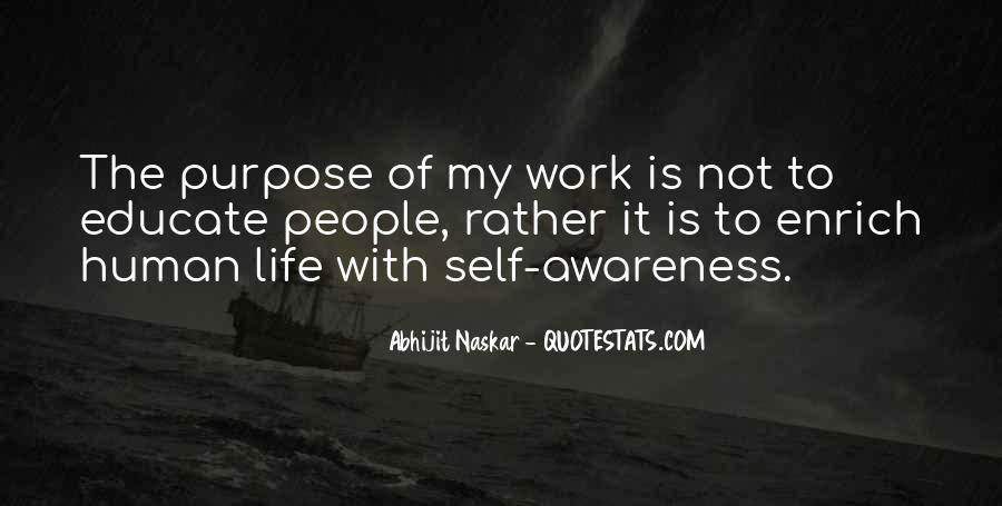 Quotes About Awareness Of Self #258785