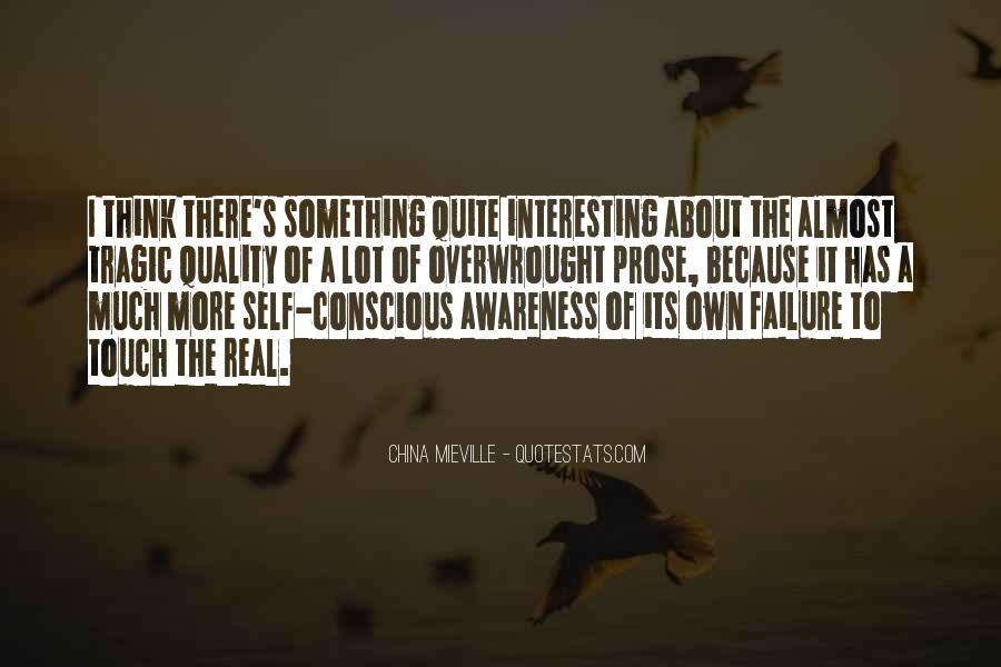 Quotes About Awareness Of Self #283227
