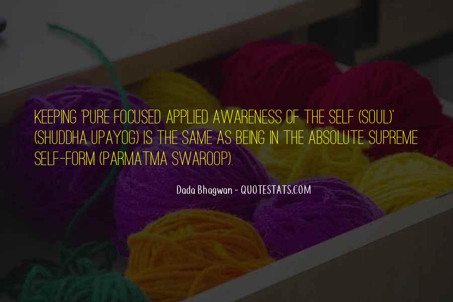 Quotes About Awareness Of Self #32292
