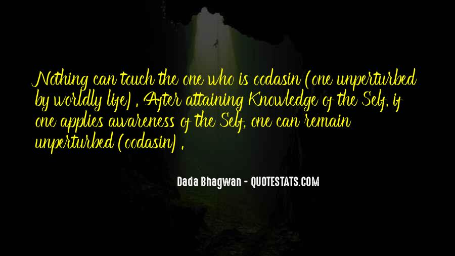Quotes About Awareness Of Self #3810