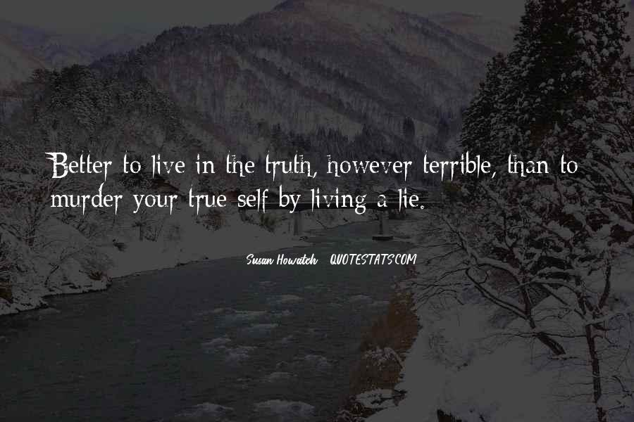Quotes About Living Your True Self #55487