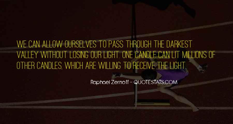 Quotes About Light Of Candles #1269701