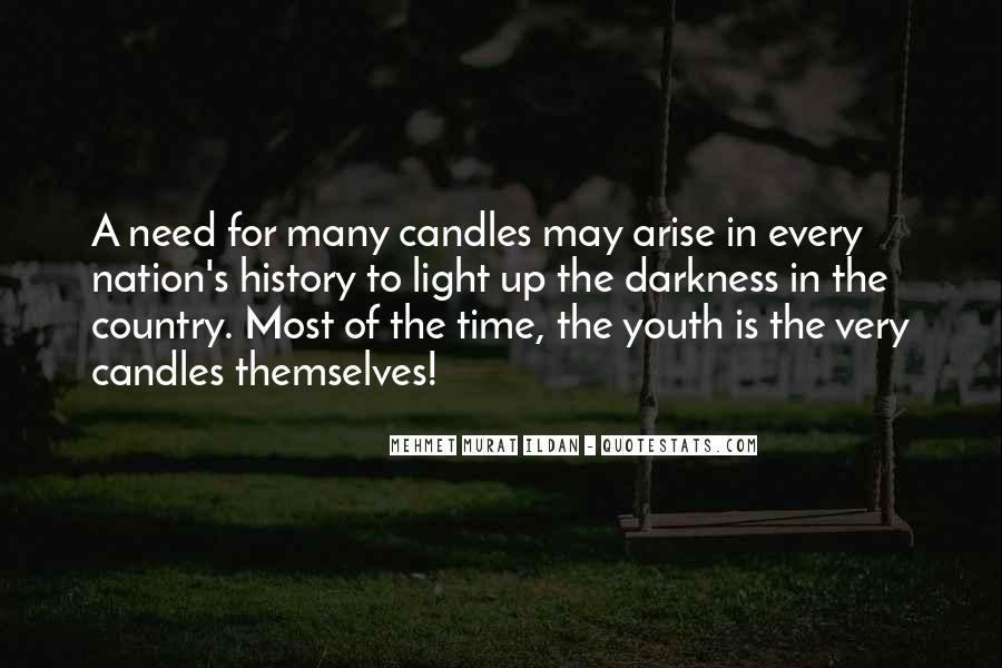 Quotes About Light Of Candles #1434874