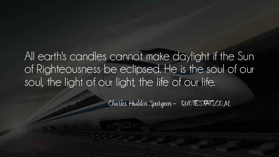 Quotes About Light Of Candles #325650
