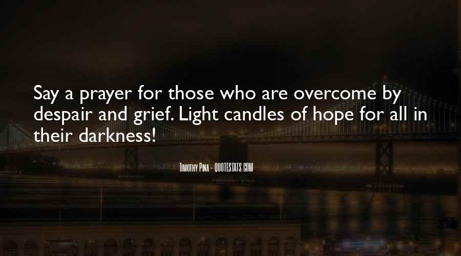 Quotes About Light Of Candles #392012