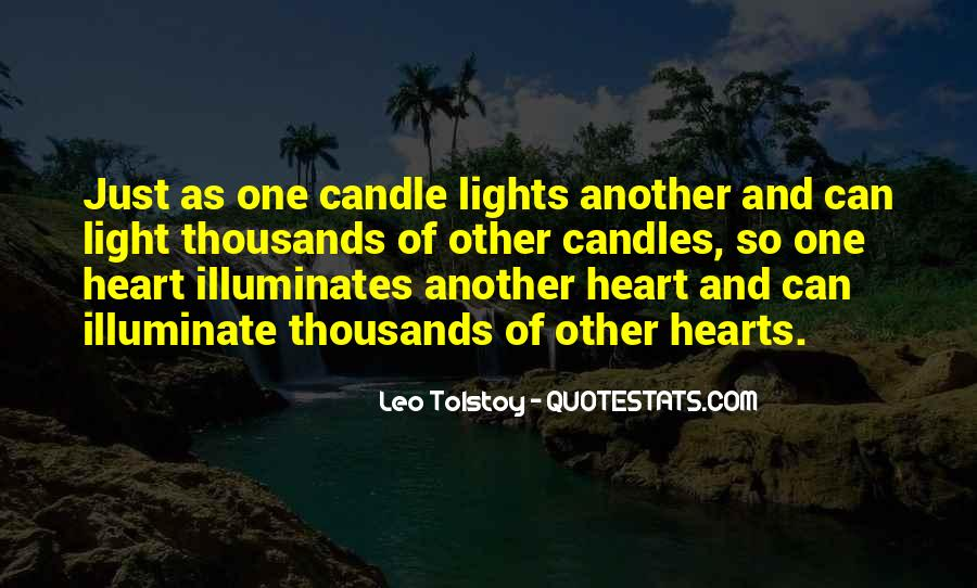 Quotes About Light Of Candles #463803
