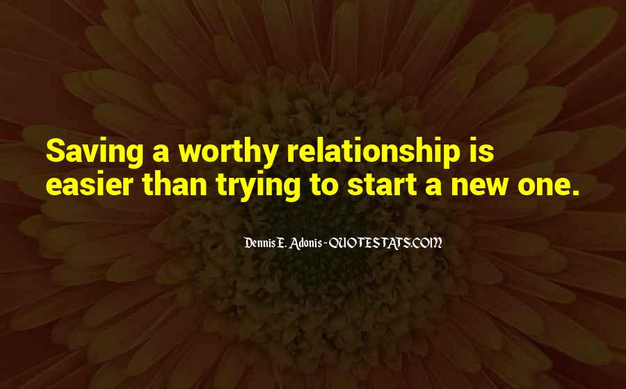 Quotes About Saving Your Relationship #109740
