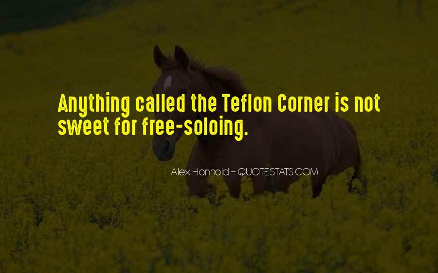 Quotes About Teflon #804437