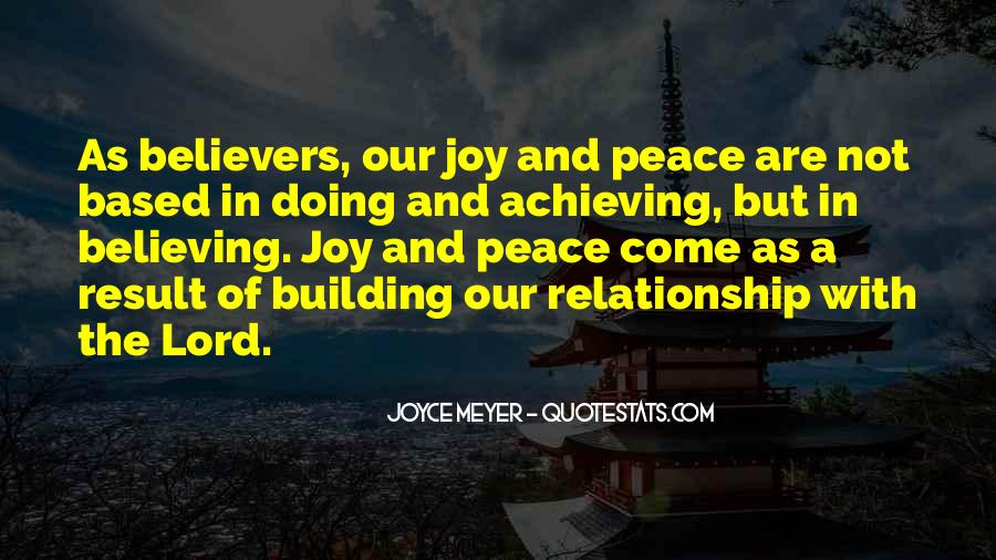 Quotes About Believing In Your Relationship #816561