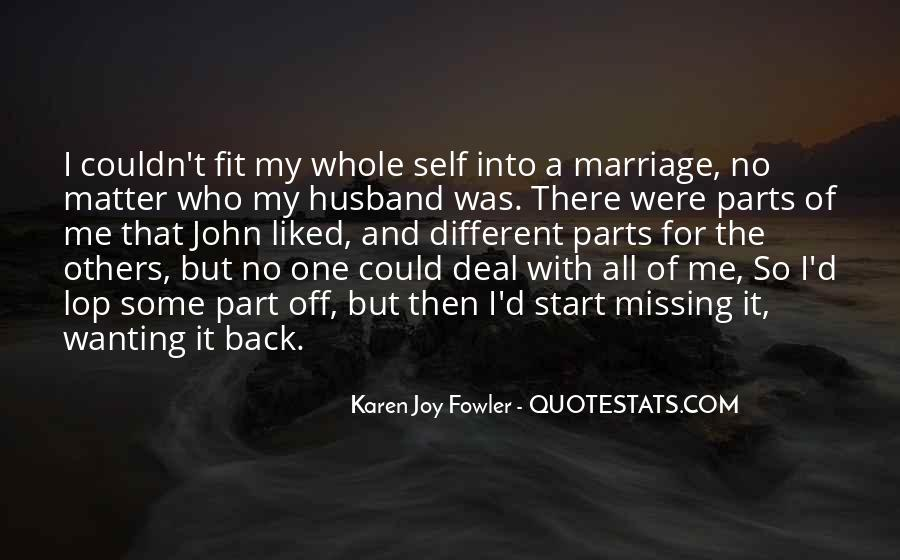 Quotes About Missing Your Husband #1380357