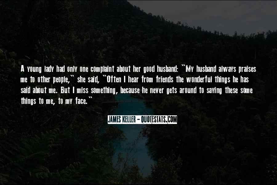 Quotes About Missing Your Husband #433715