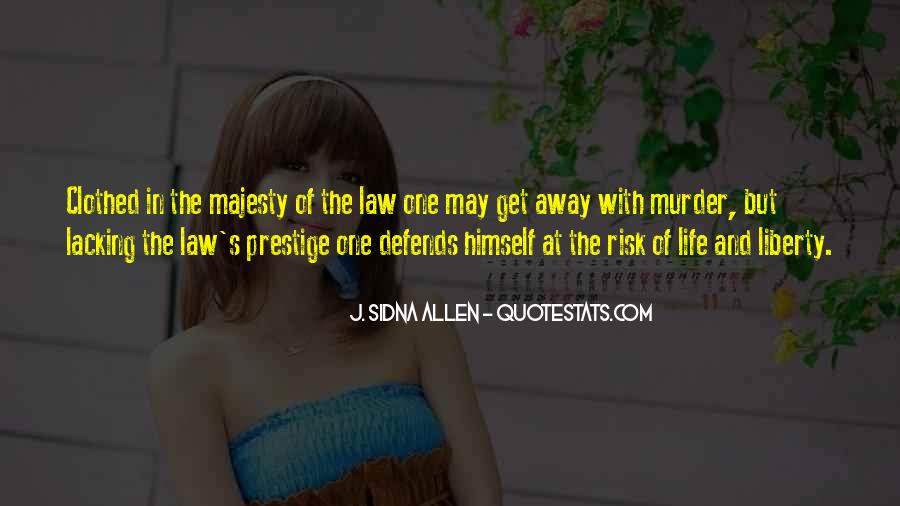 Quotes About Law Of Life #129992