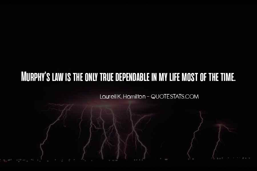 Quotes About Law Of Life #147507