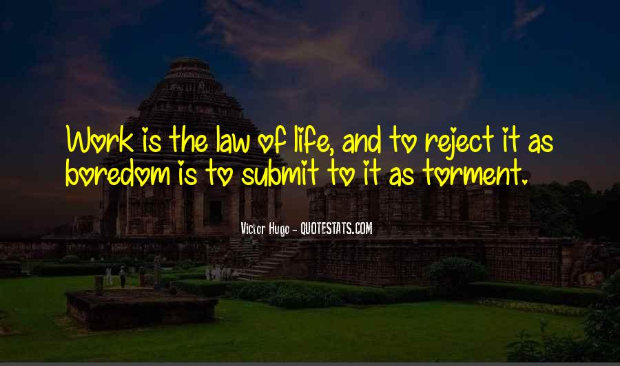 Quotes About Law Of Life #171246