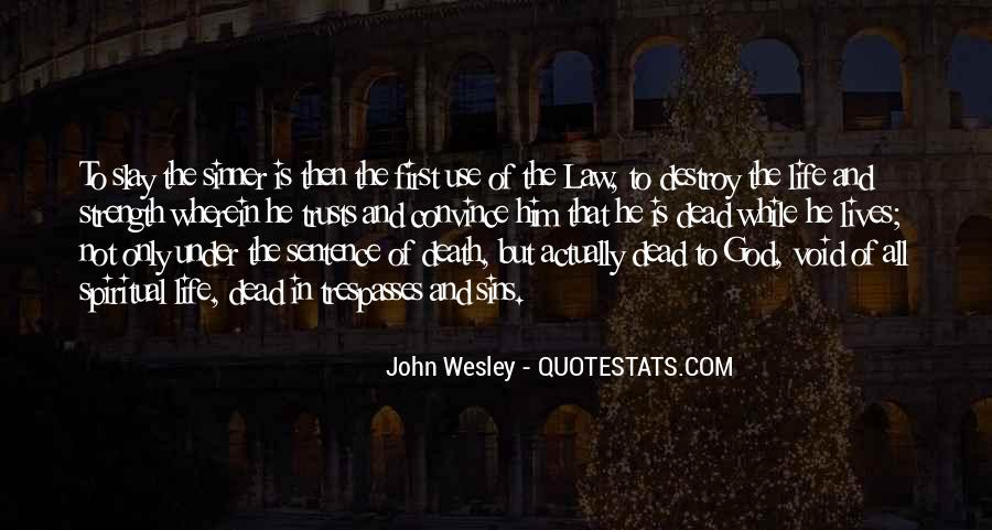 Quotes About Law Of Life #208833