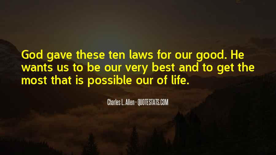 Quotes About Law Of Life #302884