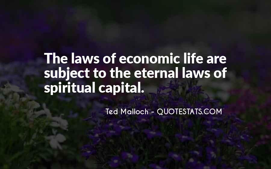 Quotes About Law Of Life #308195