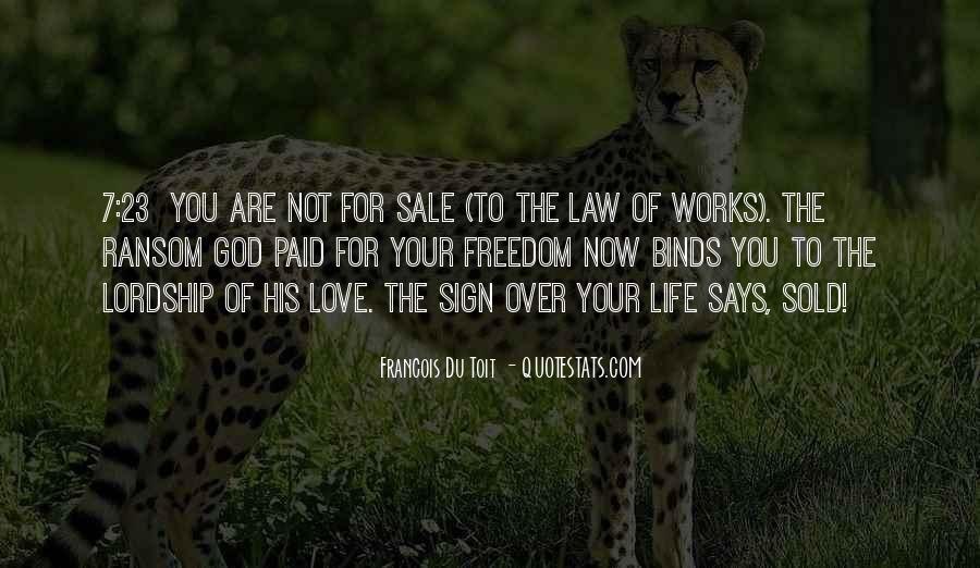 Quotes About Law Of Life #63671