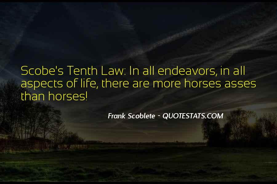 Quotes About Law Of Life #95694