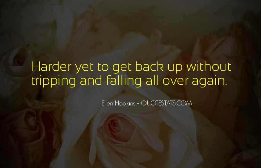 Quotes About Falling All Over Again #1109452